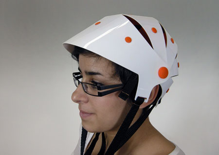 Bike Helmet Brim Girl